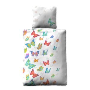 jilda-tex Bettwäsche Butterflies (135x200cm)