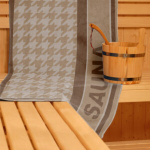jilda-tex Saunatuch Relax – Beige (70x200cm)