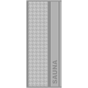 jilda-tex Saunatuch Relax – Grau (70x200cm)
