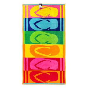 jilda-tex Strandtuch Flip Flops (90x180cm)