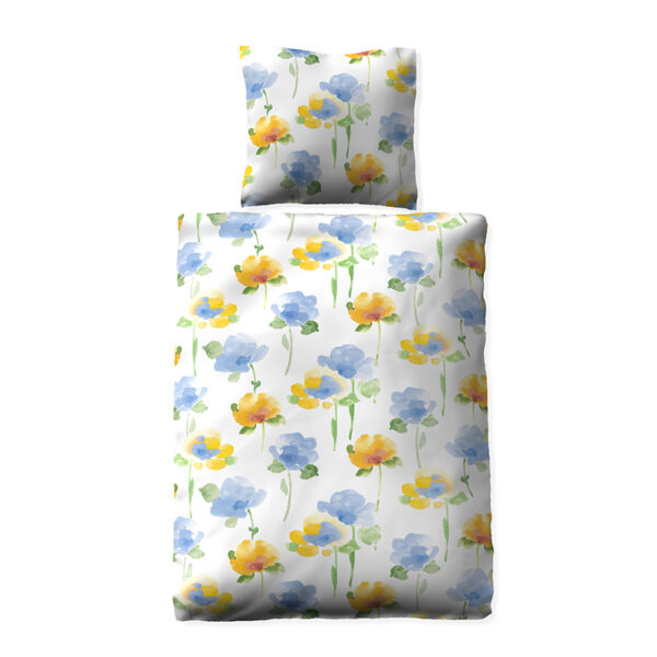 floral blue
