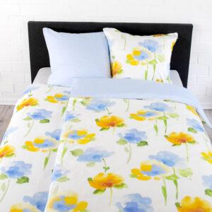 Bettwäsche Floral – Blue