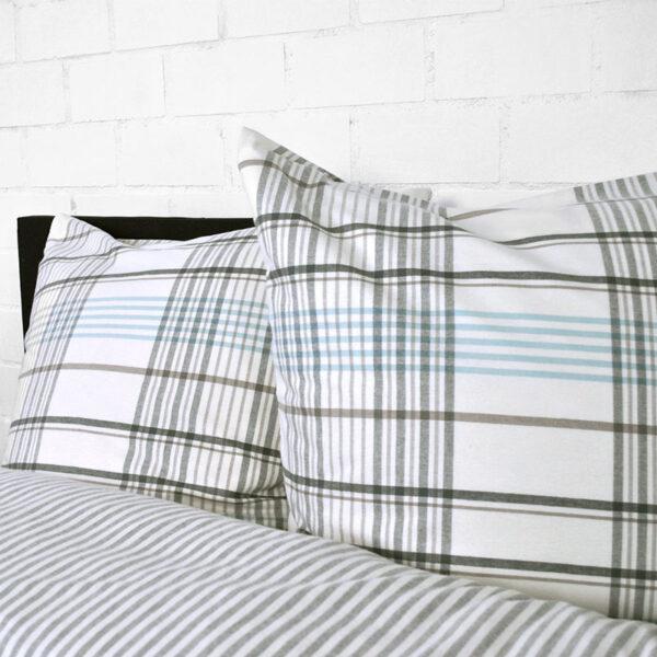 stripes and checks weiß blau1