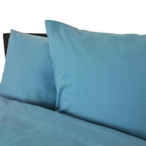 jilda-tex Bettwäsche Uni – Blau
