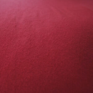 jilda-tex Bettwäsche Uni – Rot (135×200 cm)