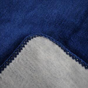 jilda-tex Wohndecke Cozy – Blue (150x200cm)