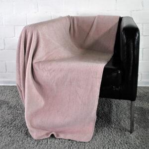 jilda-tex Wohndecke Cozy – Blush (150x200cm)