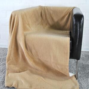 jilda-tex Wohndecke Cozy – Caramel (150x200cm)