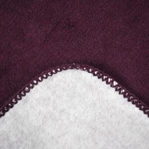 jilda-tex Wohndecke Cozy – Grape (150x200cm)