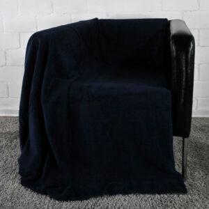 jilda-tex Wohndecke Cozy – Marine (150x200cm)