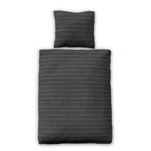 jilda-tex Bettwäsche Modern Stripes – Anthrazit