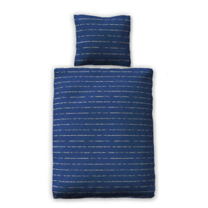 jilda-tex Bettwäsche Modern Stripes – Blau