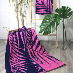 jilda-tex Strandtuch Palm Leaves (90x180cm)