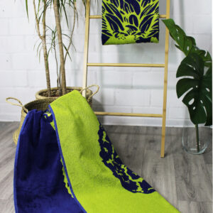 jilda-tex Strandtuch Pineapple Green (90x180cm)