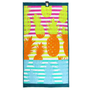 jilda-tex Strandtuch Summer Pineapple (90x180cm)