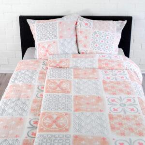 Bettwäsche Tiles – Coral