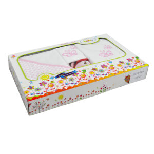 jilda-tex Babyset Kinderset Schmetterling – Rosa