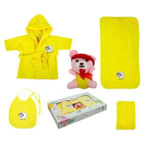 jilda-tex Babyset Kinderset Schaf – Gelb