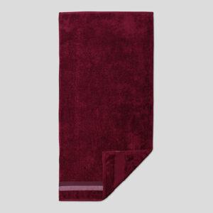 jilda-tex Handtuch Duschtuch Basic – Bordeaux