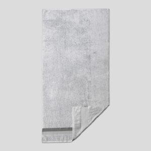 jilda-tex Handtuch Duschtuch Basic – Silber