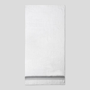 jilda-tex Handtuch Duschtuch Basic – Weiß