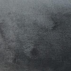 jilda-tex Wohndecke Soft – Anthrazit (150x200cm)