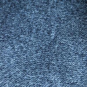 jilda-tex Wohndecke Soft – Blau Meliert (150x200cm)