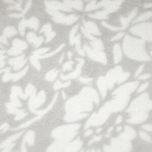 jilda-tex Wohndecke Soft – Flower Beige (150x200cm)