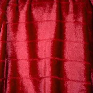 jilda-tex Wohndecke Soft – Red Lines (150x200cm)