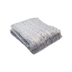 jilda-tex Wohndecke Soft – Strick (150x200cm)