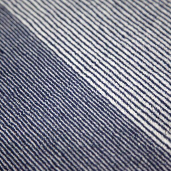 jilda-tex Wohndecke Stripe Blue Bild3