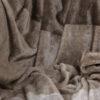 jilda-tex Wohndecke Stripe Brown Bild2