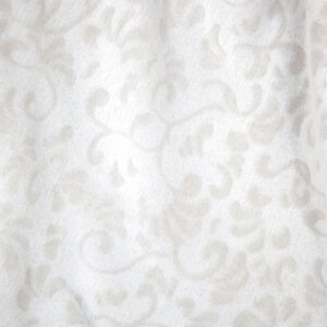 jilda-tex Wohndecke Soft – Tendril White (150x200cm)