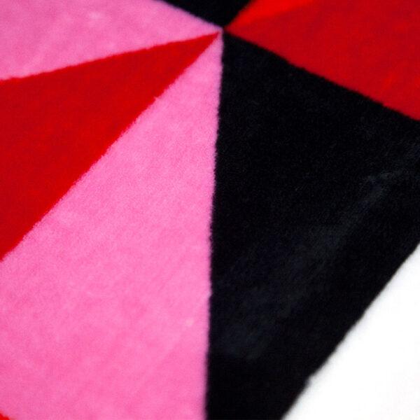 jilda-tex Wohndecke Triangle Multicolored Bild2