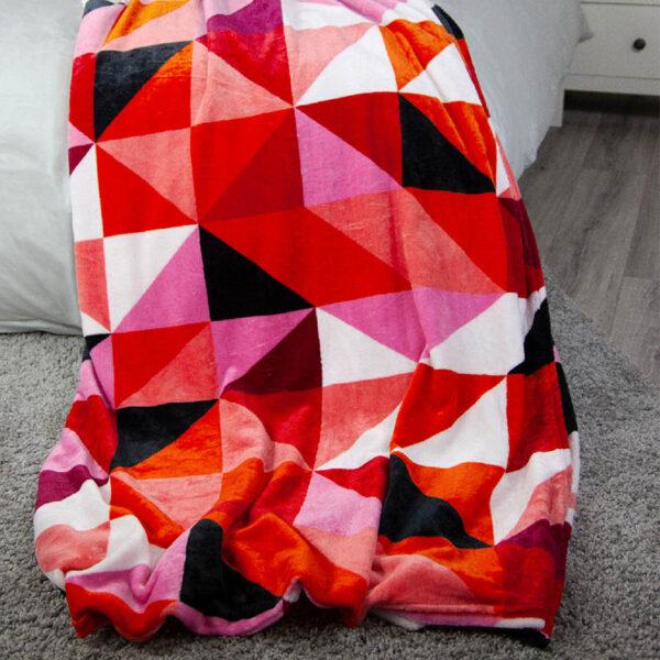 jilda-tex Wohndecke Triangle Multicolored Bild3