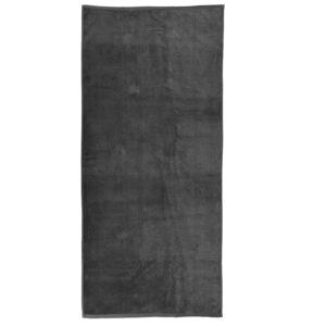 jilda-tex Uni Strandtuch Holiday – Grau (80x180cm)