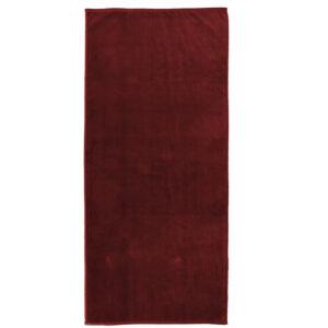 jilda-tex Uni Strandtuch Holiday – Rot (80x180cm)