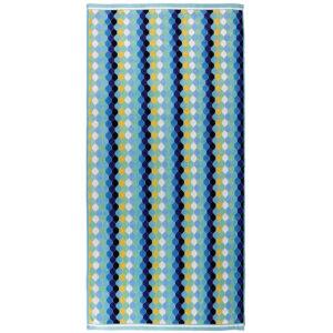 jilda-tex Strandtuch Mosaic Green (90x180cm)