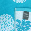 jilda-tex Strandtuch Pineapple Allover Turquoise Bild2