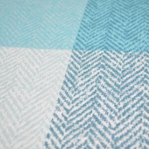 Bettwäsche Classic Squares – Blau
