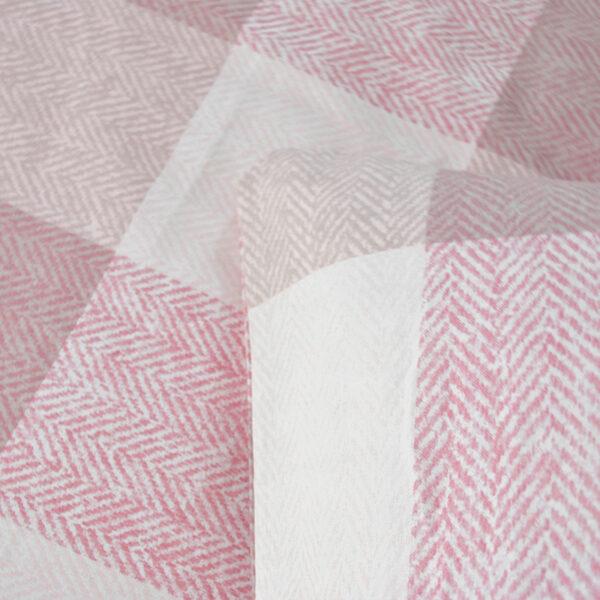 jilda-tex Bettwäsche Classic Square Pink Bild4
