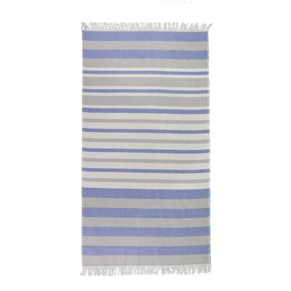 jilda-tex Hamamtuch Classic Stripes Blue Bild1