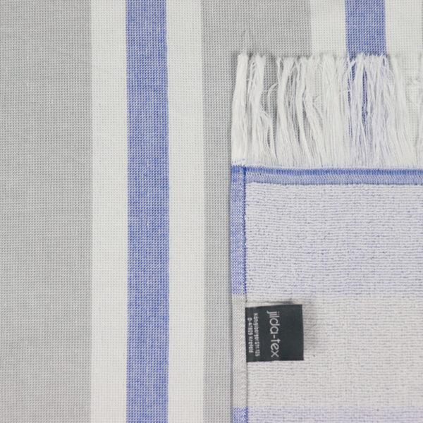 jilda-tex Hamamtuch Classic Stripes Blue Bild4