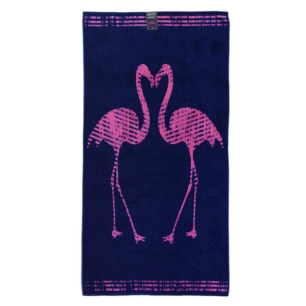 jilda-tex Strandtuch Flamingos Freisteller