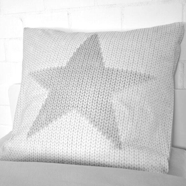 jilda-tex Bettwäsche Grey Stars Bild4