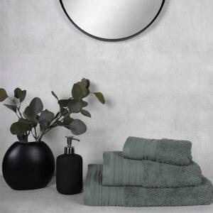 jilda-tex Frottierware Premium – Grün (verschiedene Größen)
