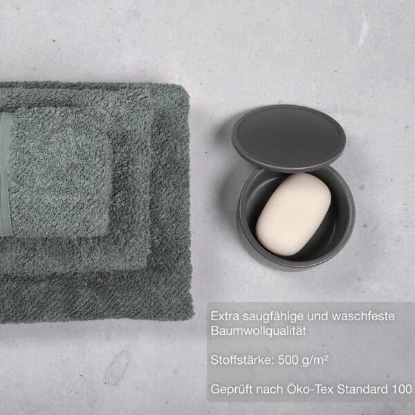 jilda-tex Frottierware Premium Grün Bild4