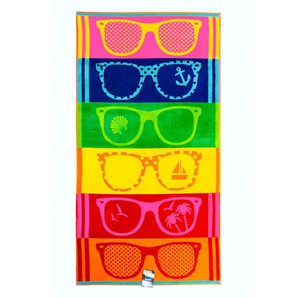 jilda-tex Strandtuch Sunglasses Freisteller