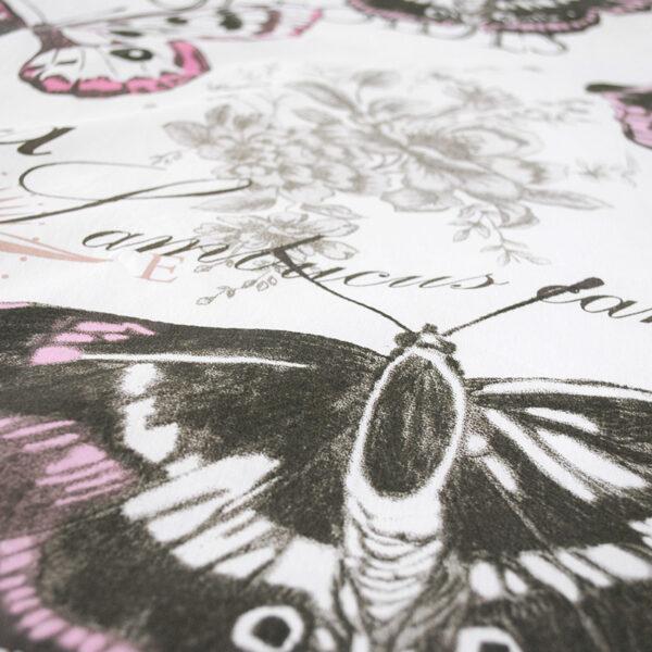 jilda tex bettwaesche vintage butterfly rose bild3