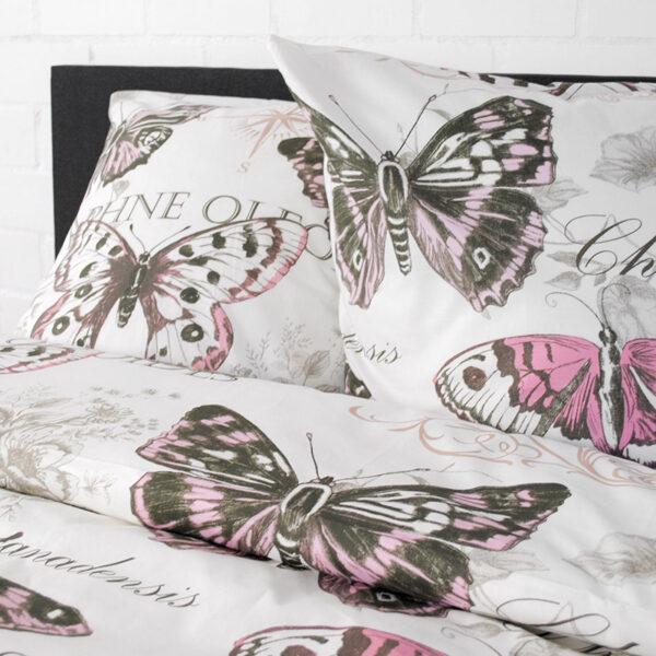 jilda tex bettwaesche vintage butterfly rose bild4